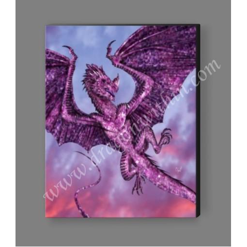 Amethyst Dragon Canvas Print