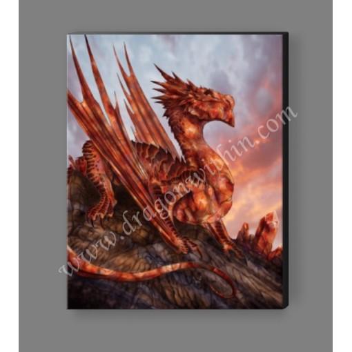 Carnelian Dragon Canvas Print