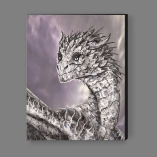 Diamond Dragon Canvas Print