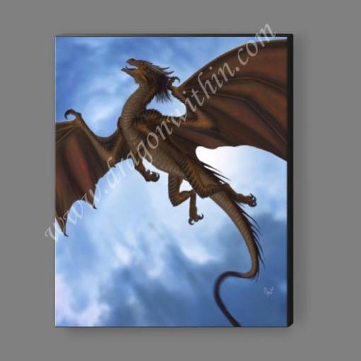 Air Dragon Canvas Print