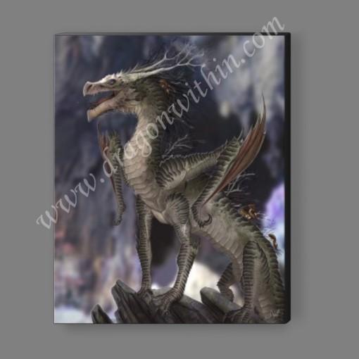 Earth Dragon Canvas Print