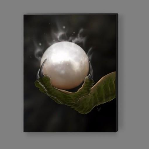 Dragon's Pearl Canvas Print