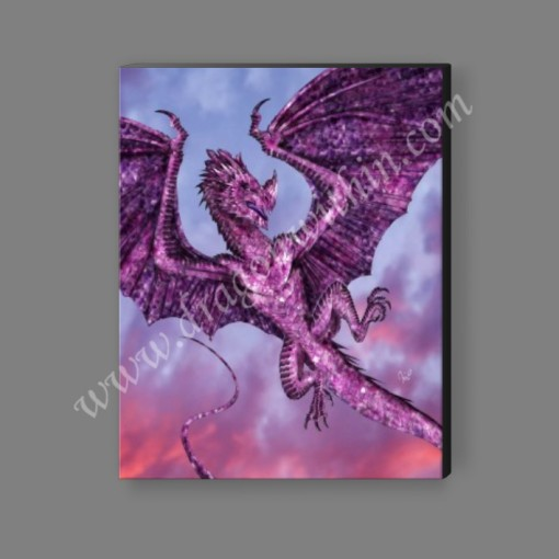 Amethyst Dragon Canvas Print