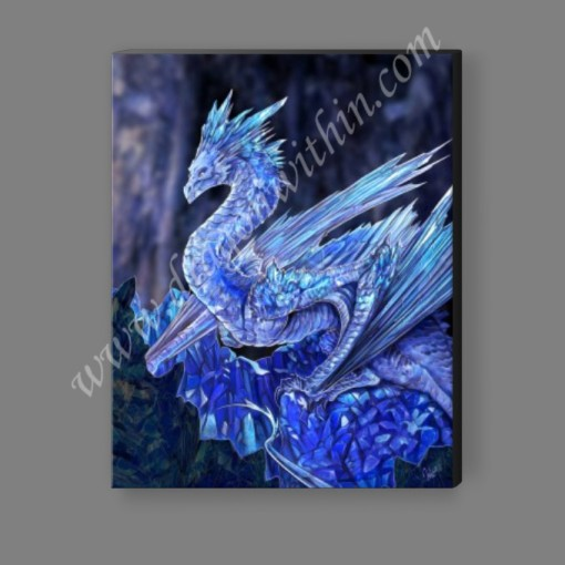 Crystal Dragon Canvas Print