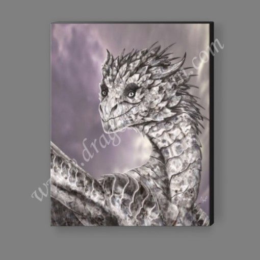 Diamond Dragon Canvas Print