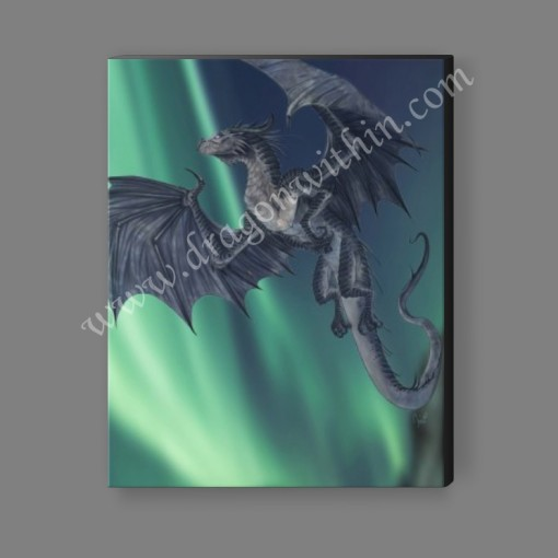 Mercury Dragon Canvas Print