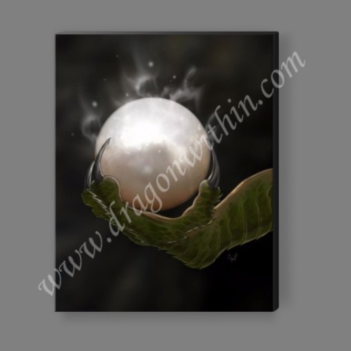 Dragon's Pearl Canvas Print