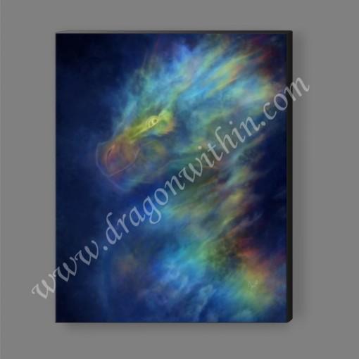 Rainbow Dragon Canvas Print