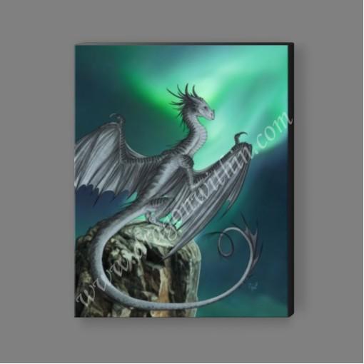 Titanium Dragon Canvas Print