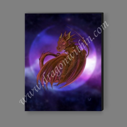 Dreaming Into Being Dragon Canvas Print 2