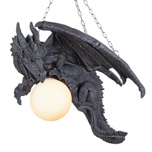 Hanging Dragon Lamp
