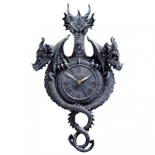 Three-Headed Dragon Clock