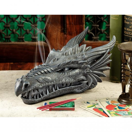Smoking Dragon Incense Burner