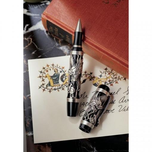 Pewter Dragon Pen