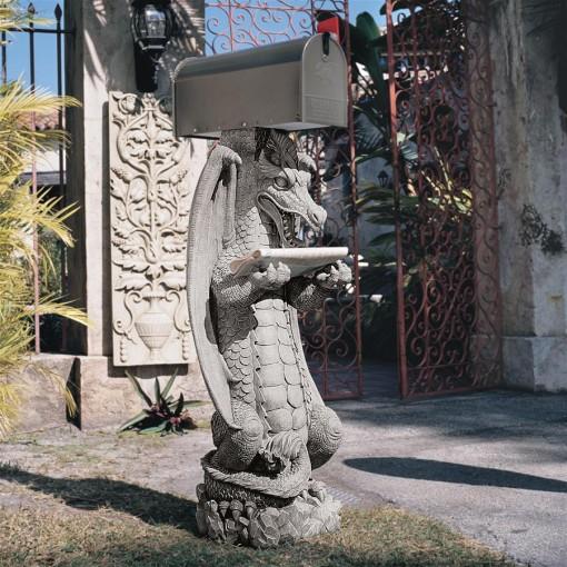 Dragon Mailbox
