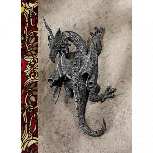 Horned Dragon Wall Sculpture
