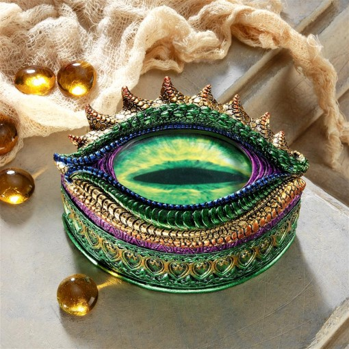 Eye of the Dragon Jewelry Box
