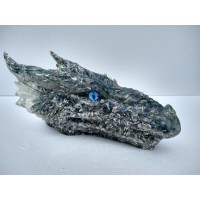 Blue Orgonite Dragon