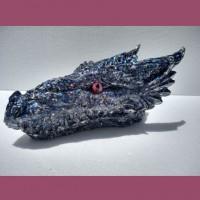 Sparkle Orgonite Dragon